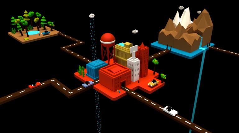 3D Modular Lands