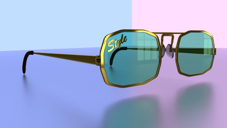 'Style' 3D Vintage Glasses